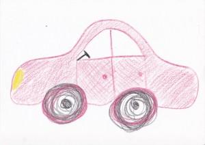 La voiture de Jeanne